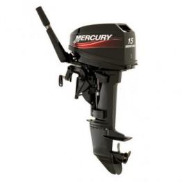Подвесной 2-х тактный бензиновый лодочный мотор MERCURY 15MH (294CC)